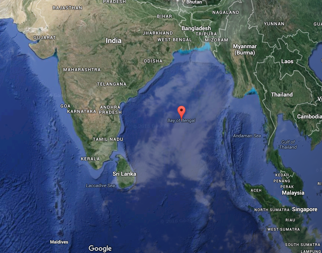 Such an amazing Bay of Bengal